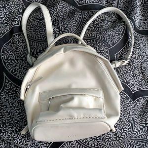 White Matt and Nat mini backpack